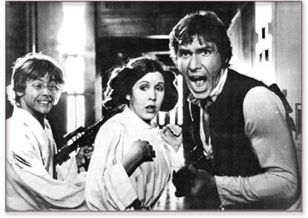 Candid Camera Star Wars : Han solo has major part in star wars the last jedi daily mail